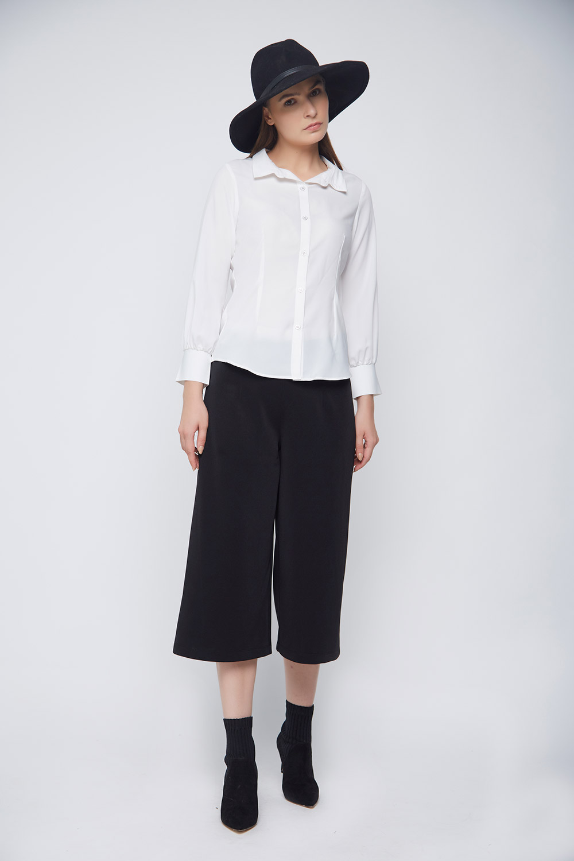 Business Formal White Shirt -0
