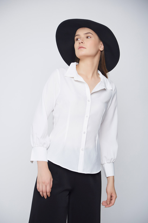 Business Formal White Shirt -2