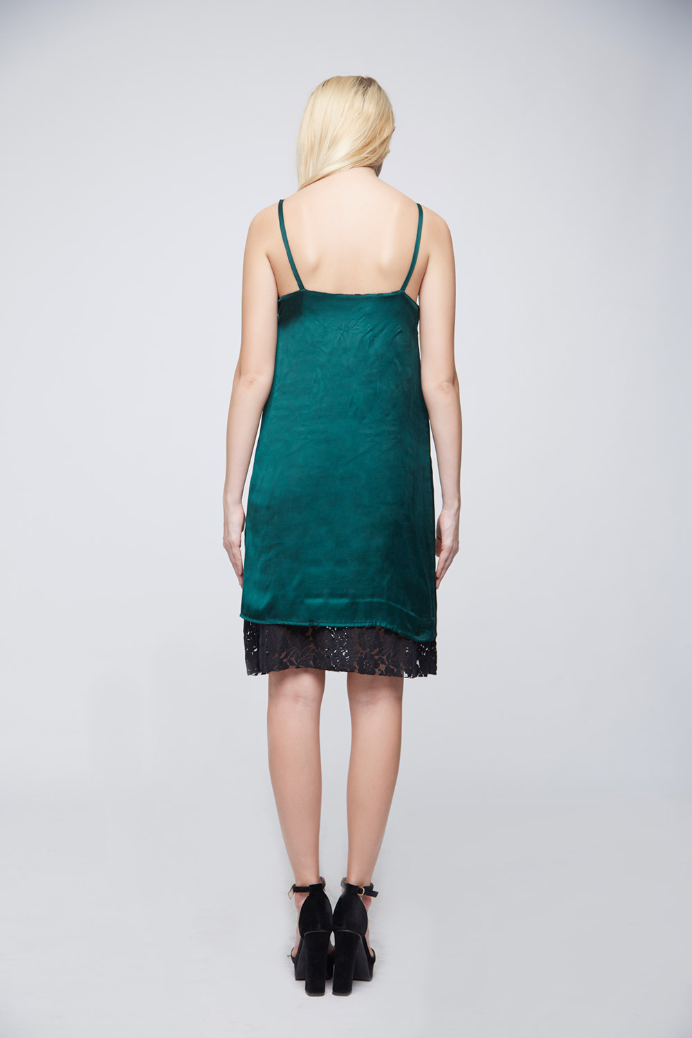 Green Loop Dress -2