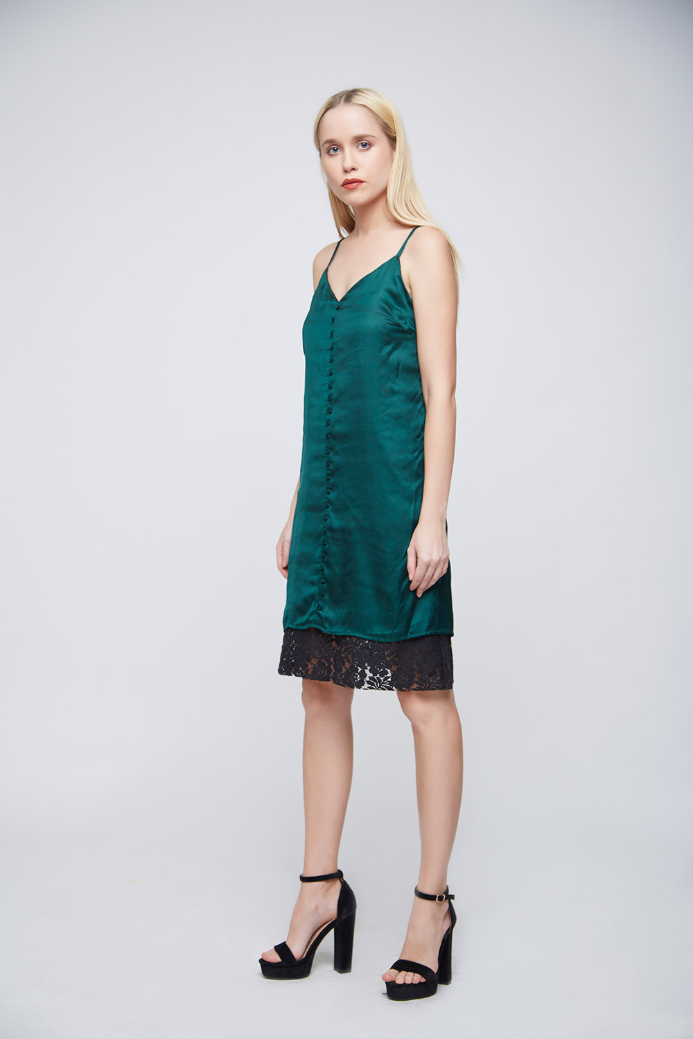 Green Loop Dress -3