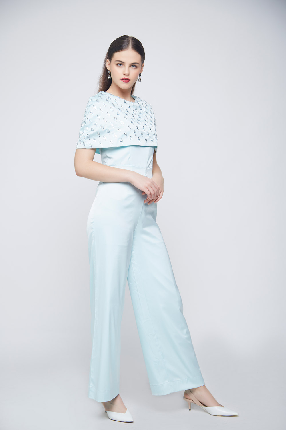 Unicorn Cape Jumpsuit -3