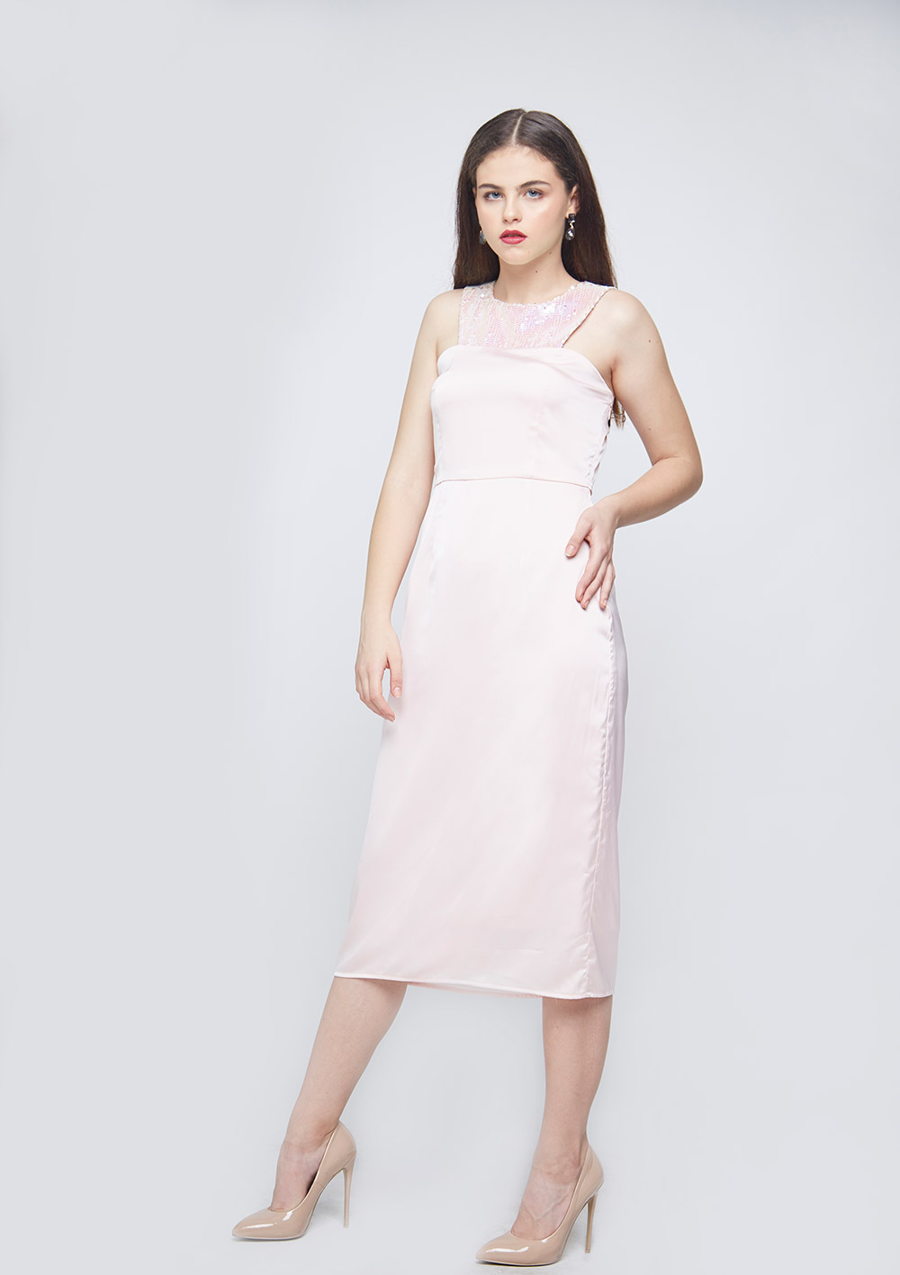 Unicorn Waist Pleated Dress -2
