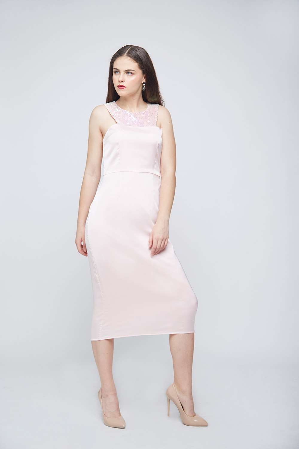 Unicorn Waist Pleated Dress -3