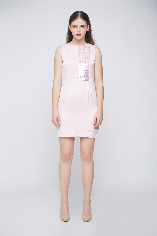 Unicorn Peach Dress -0