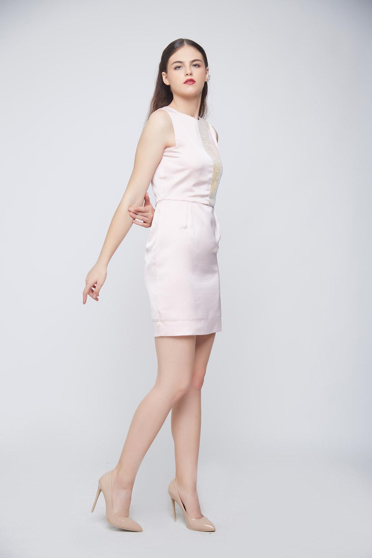 Unicorn Peach Dress -1