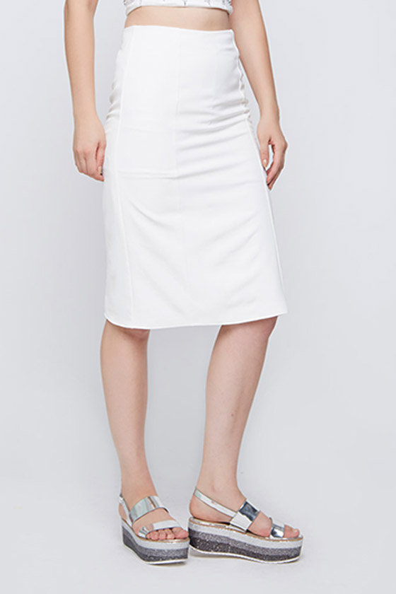 Unicorn Ivory Princess Skirt - Front