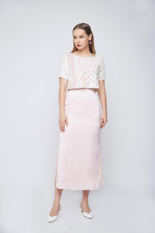 Unicorn Cape Dress -0