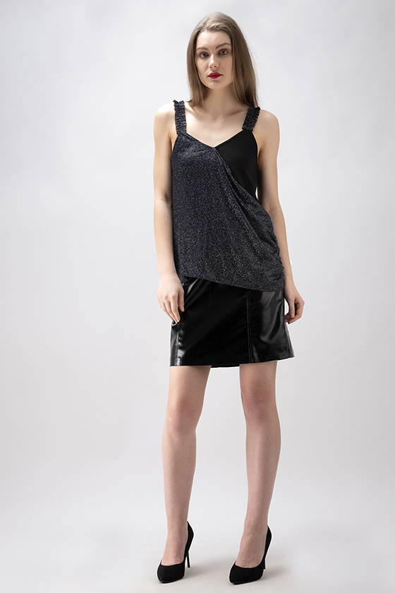 Party Glitter Top - Front
