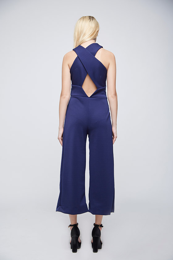 Axis Blue Jumpsuit - Back