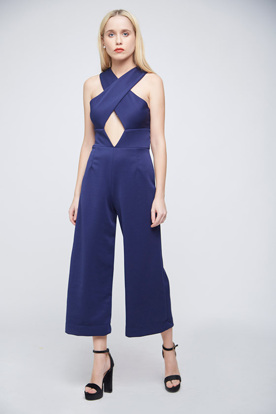Axis Blue Jumpsuit - Front
