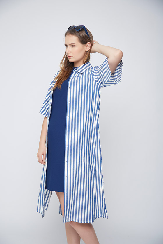 Stripes Outerwear - Back
