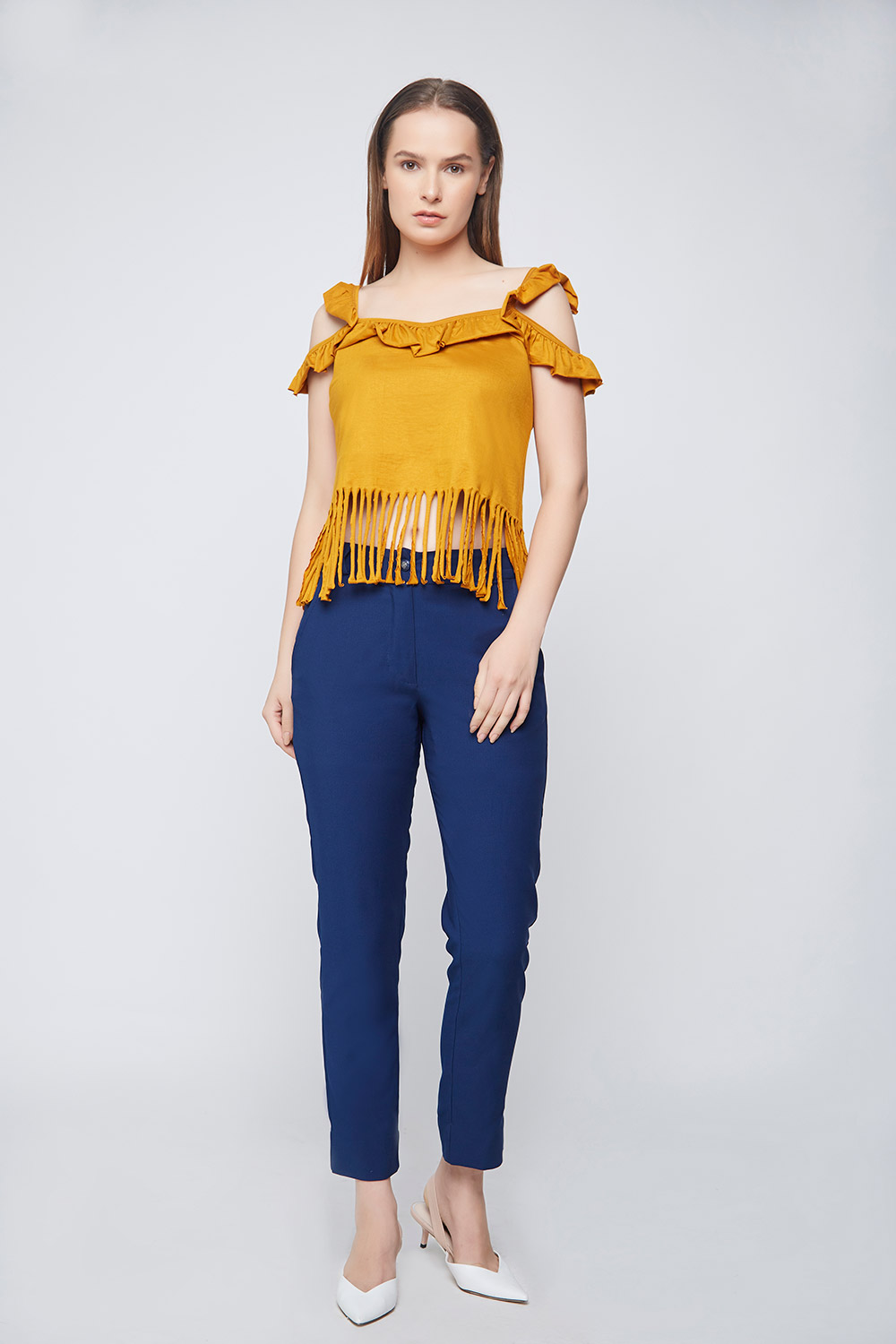 Casual Fringes Top -2