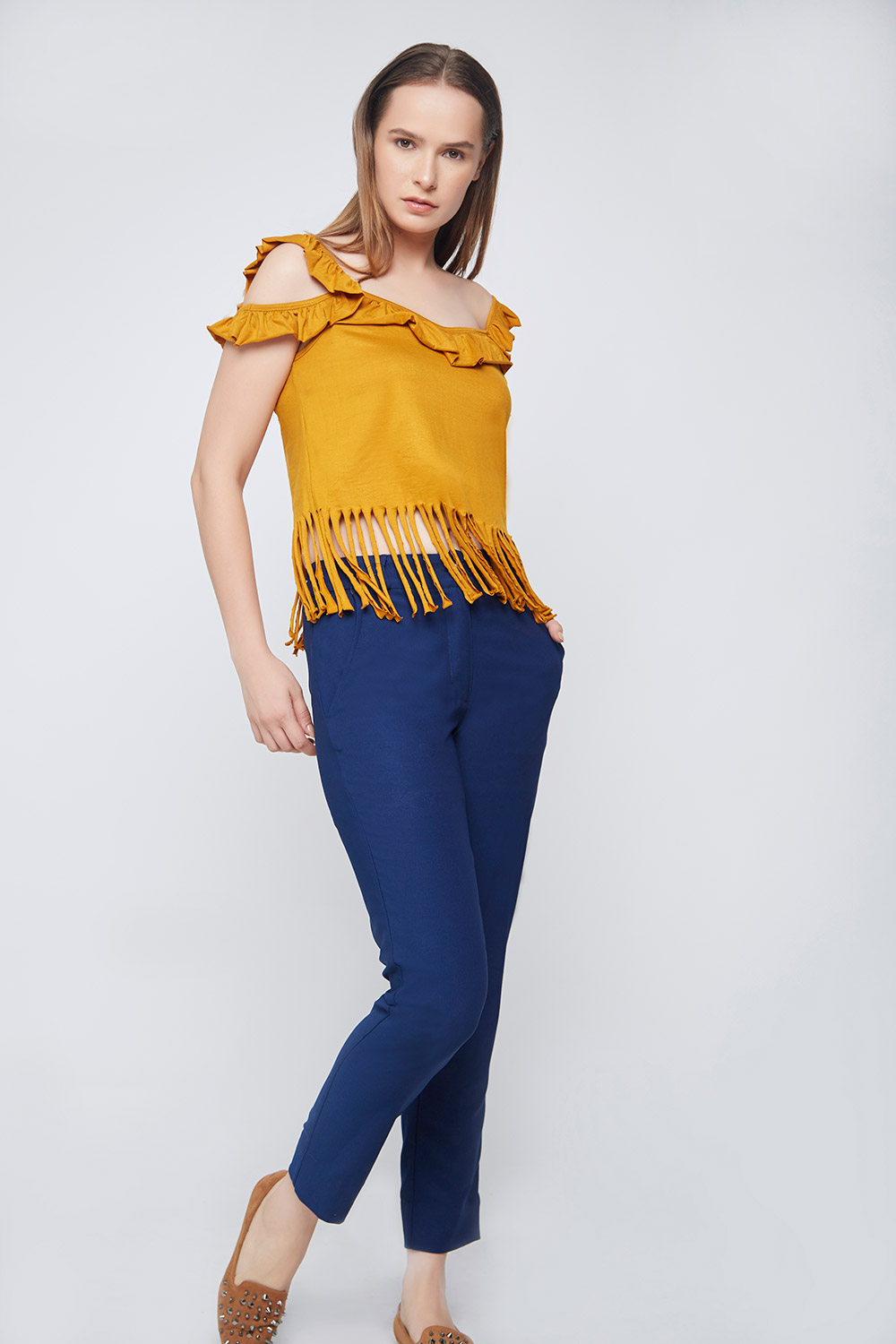 Casual Fringes Top -3