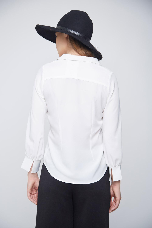 Business Formal White Shirt -3