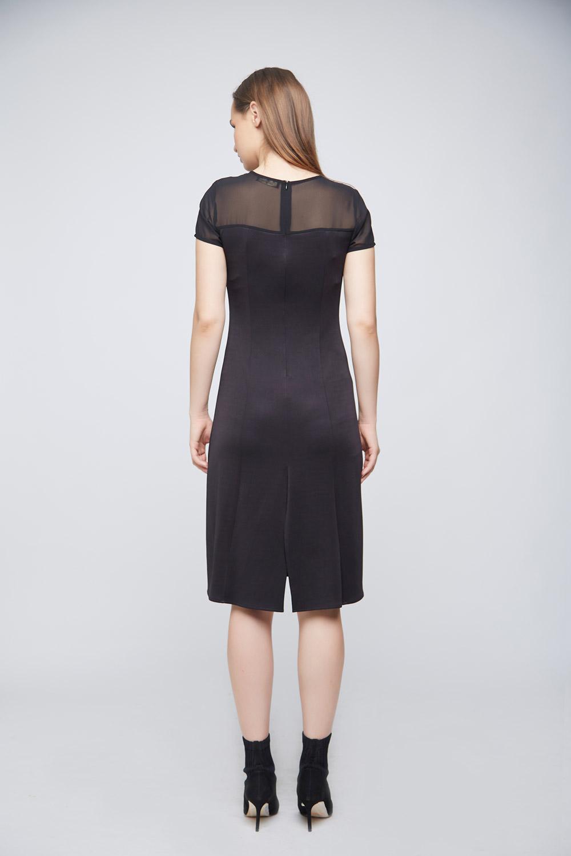 Black Punto Dress -1