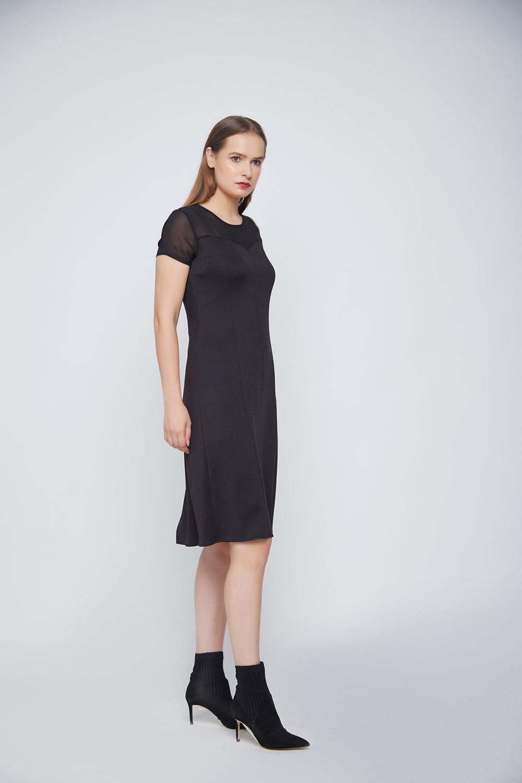 Black Punto Dress -3