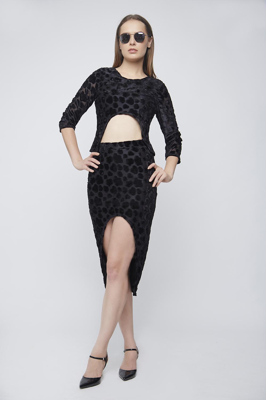 Black Braso Skirt -2