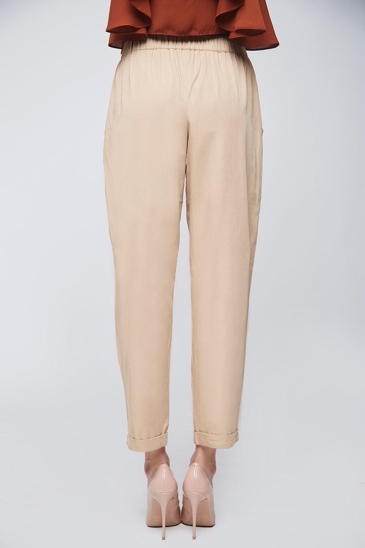 Beige Twill Trouser -3