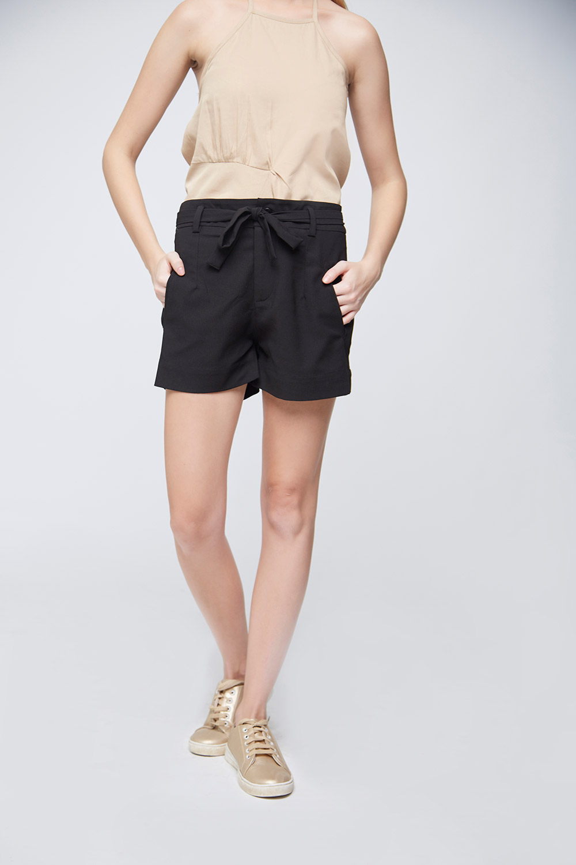 black hot pants -1