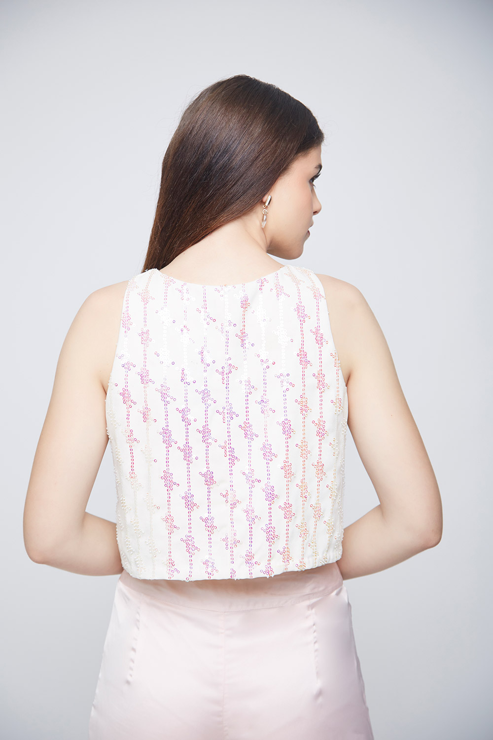 Unicorn Crop Top - Back